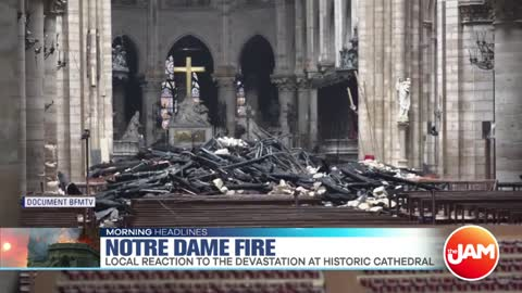 The French Embassy in Chicago Reacts to Notre Dame Fire