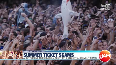 Summer Concert Scams