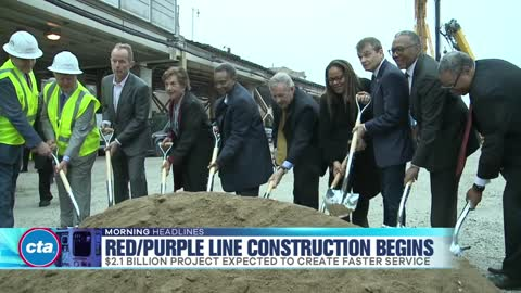 Work Begins on CTA Red-Purple Line Modernization Project