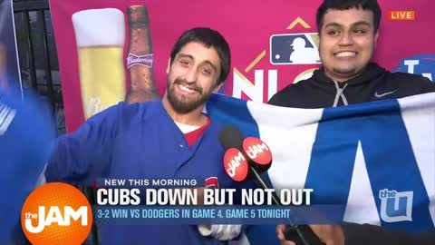 The Cubs Win Game 4 of NLCS