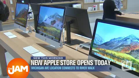 Apple's New Flagship Store Opening