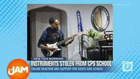 Brandon Pope - Instruments Stolen from CPS School Support