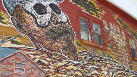 Muralist Makes a Statement in Pilsen