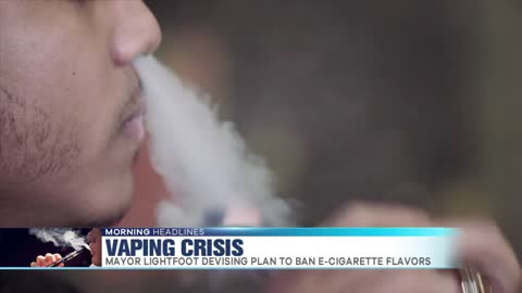 Mayor Lightfoot Proposes Ban on Flavored E-cigarettes