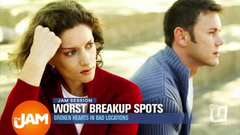 Worst Breakup Spots: Broken Hearts in Bad Locations