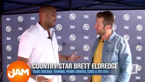 Country Star Brett Eldredge Talks Music, Chicago Cubs & His Biggest Idol