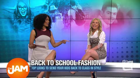 Back to School Fashion with Sydney Sadick