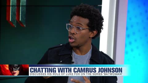 'Batwoman' star Camrus Johnson Answers Rapid Fire Questions as 'Luke Fox'