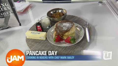 National Pancake Day | Cooking in Boxers with Chef Mark Bailey