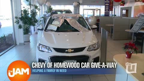 Chevy of Homewood Car Give-A-Way is Helping a Family in Need