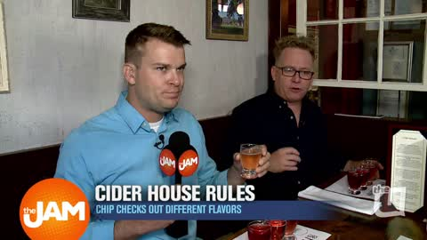 Chip Checks Out Cider