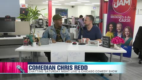 Chris Redd Talks SNL and Chicago Comedy Show