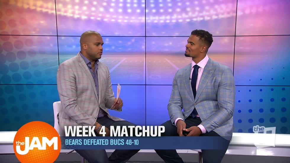 Wciu The U Week 4 Matchup Bears Defeat Buccaneers