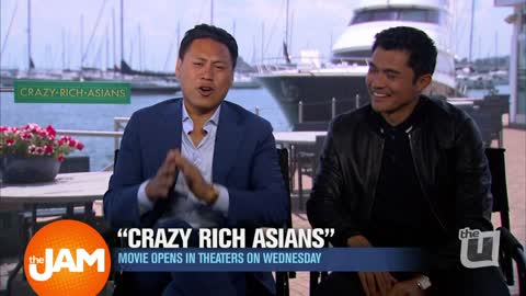 Ji's Interview with 'Crazy Rich Asains' Actor and Director