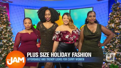 Trendy Holiday Looks for Curvy Women