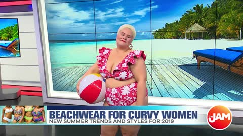 Beachwear Trends For Curvy Women