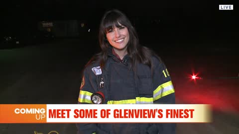 Carly Becomes a Firefighter with Glenview Fire Department
