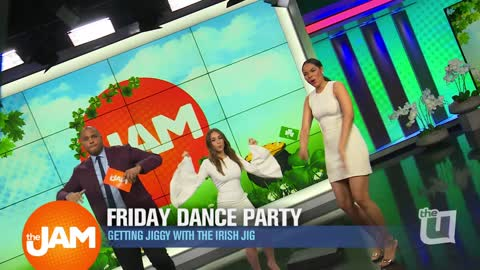 Irish 'Jiggin' to this Friday Dance Party!