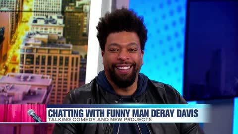 Funny Man Deray Davis Talks His Love for Comedy and Chicago