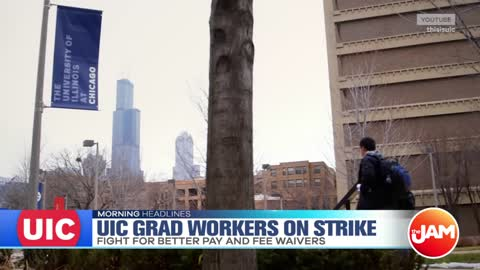 UIC Grad Workers Go On Indefinite Strike
