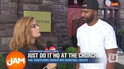 Church Transformed Into Basketball Facility