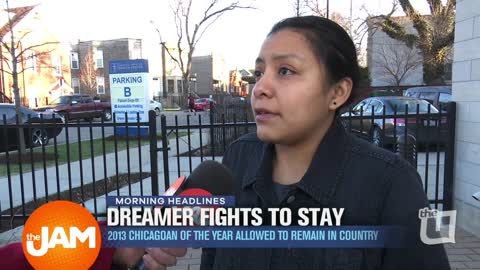 Dreamer Fights to Stay in US