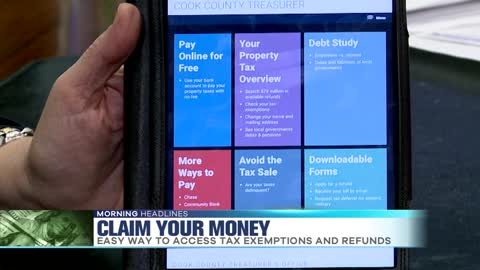Cook County Treasurer Helping People Claim Cash