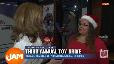 Third Annual Toy Drive for Homeless in Chicago