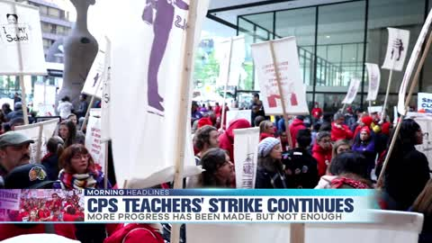CPS Teachers' Strike Continues into Second Week
