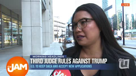 Third Federal Judge Rejects DACA
