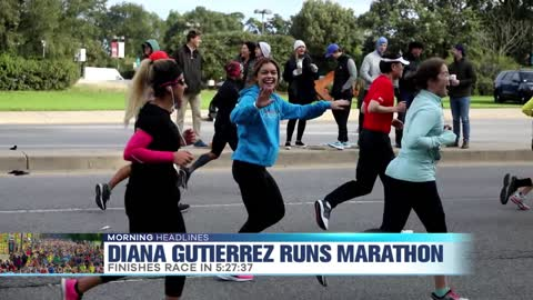 The Jam's Diana Gutierrez Runs Chicago Marathon