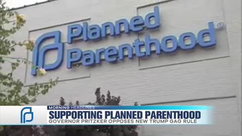 Governor J.B. Pritzker backs Planned Parenthood after newly implemented abortion gag rule