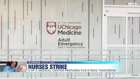 University of Chicago Hospital's Nurses Set to Strike