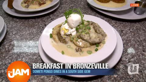 Breakfast in Bronzeville with Dometi Pongo
