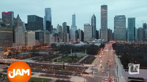 Chicago Skyline Views from The Jam's Drone Cam