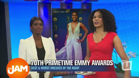 2018 Emmy Awards: Best and Worst Dressed