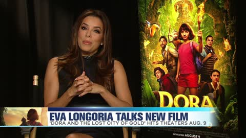 Eva Longoria Talks New Film
