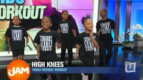 Working Out with Kids: Excuse Free Fitness in Homewood