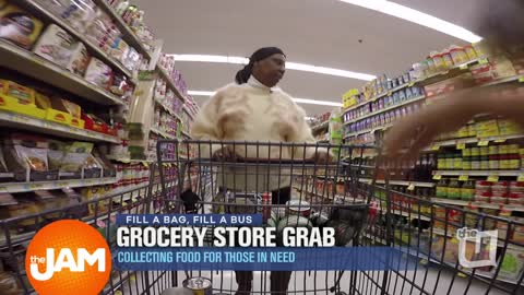 Grocery Story Grab - Collecting Food for those in Need
