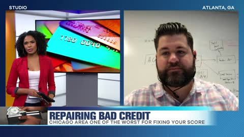 Two Illinois Cities Named Worst for Repairing Bad Credit