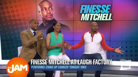 Finesse Mitchell Talks SNL, Kids, and Comedy