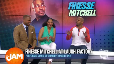 Catching Up With Comedian Finesse Mitchell
