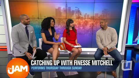 Catching Up With Finesse Mitchell