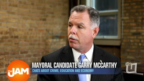 Sitting Down Mayoral Candidate Garry McCarthy