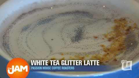 Glitter Latte at Passion House