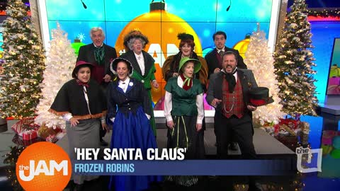 Frozen Robins | 'Hey Santa Claus'