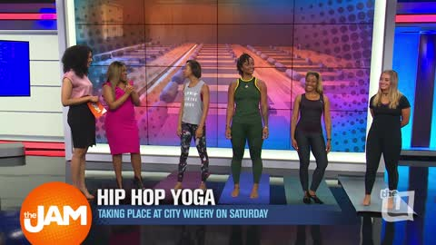 City Winery Hip Hop Yoga