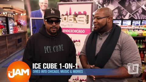Ice Cube Talks Chicago, Music, & Movies