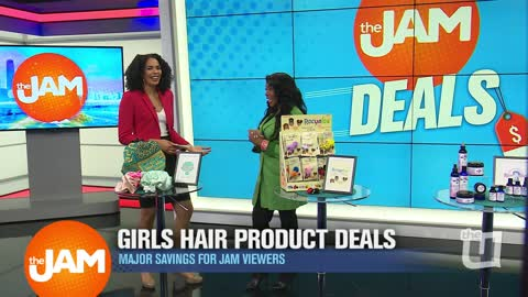 Jam Deals | Exclusive Savings on Women's Hair Products