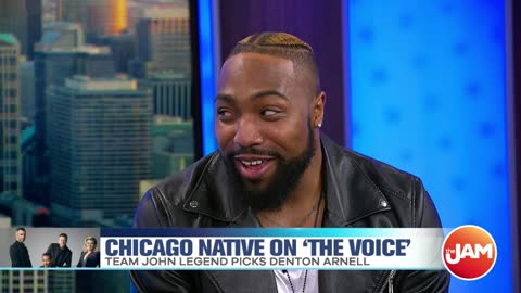"Denton Arnell | Chicago Native on ""The Voice"""